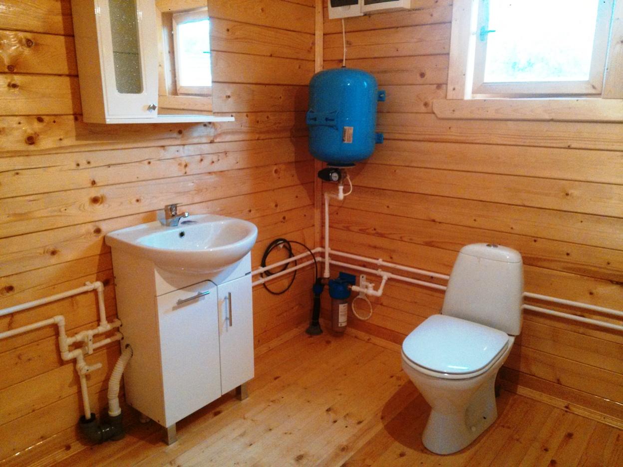 Водопровод в загородном доме своими руками 24