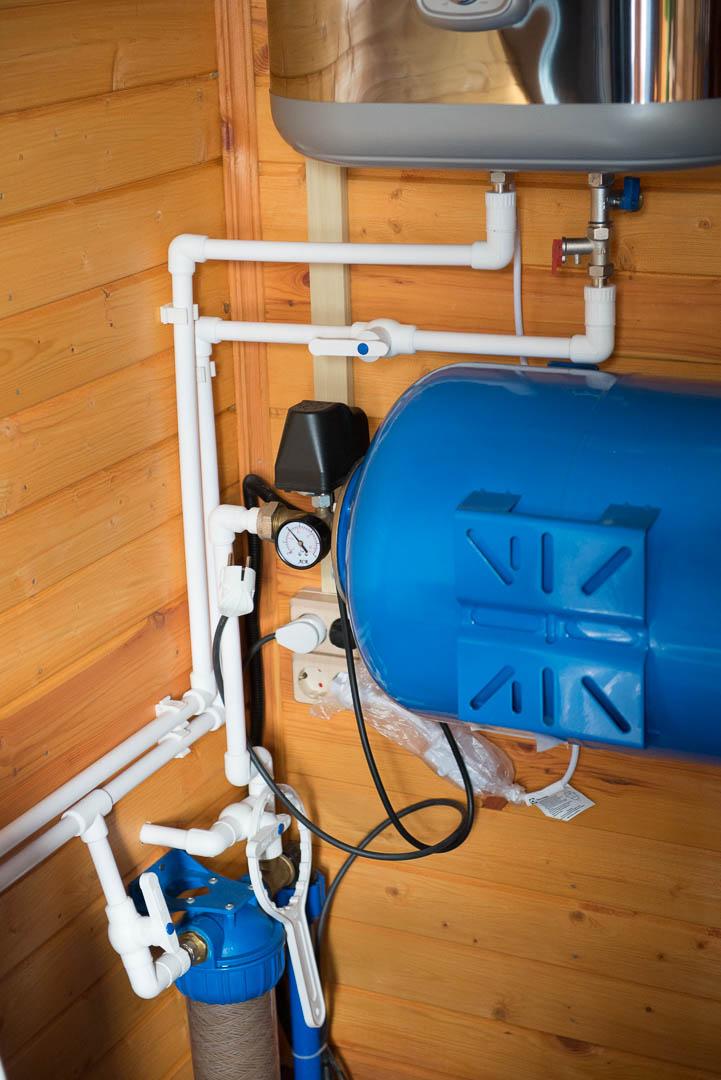 Как в частном доме сделать водопровод из скважины 746