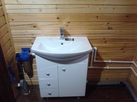 Схема водопровода на даче из скважины своими